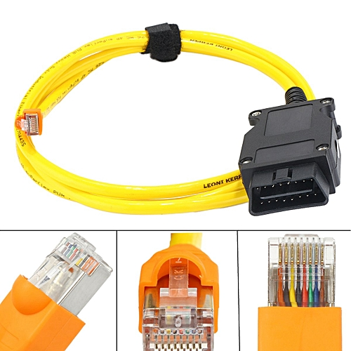 ENET (Ethernet To OBD) Diagnostic Coding Interface Cable E-SYS ICOM For BMW  F Series 7 Series