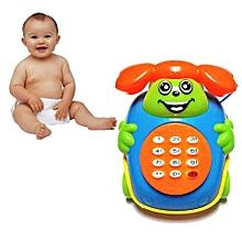 Henoesty 2016 Baby Toys Music Cartoon Phone Educational Developmental Kids Toy Gift New