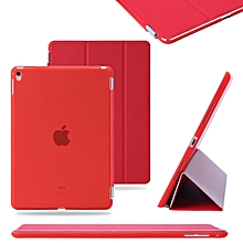 9.7 Inch Simple Smart Stand Magnetic Back Case Cover with Kickstand for Apple iPad CHD-Z