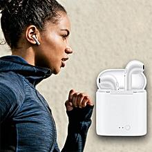 Bluetooth Earphone, I7S Headphones for A pple IPhoneX Wireles s Earphones, Headset Phone Mini Bluetooth Charger, XioIn Ear Earbuds XYX-K