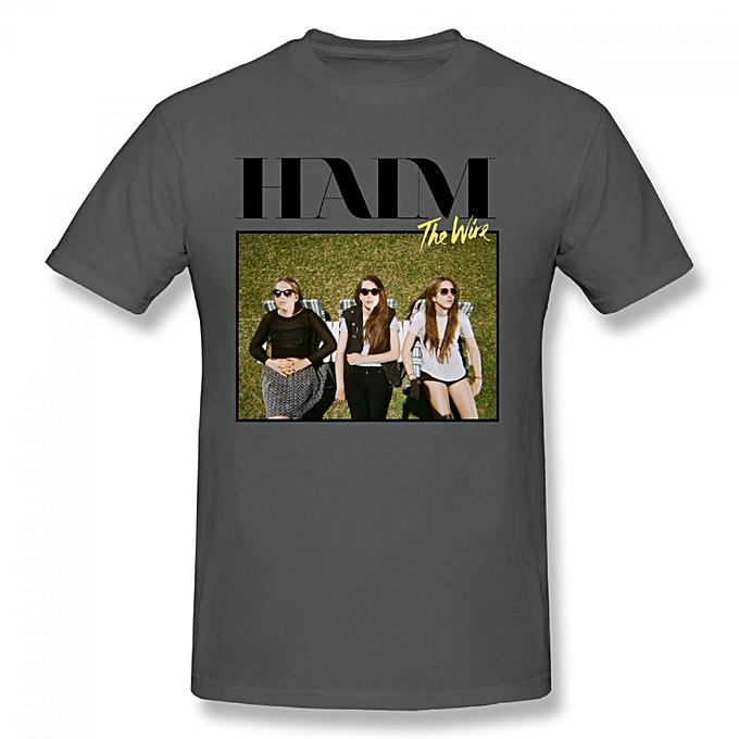 Buy Generic Haim The Wire Este Danielle Alana Men\'s Cotton Short ...