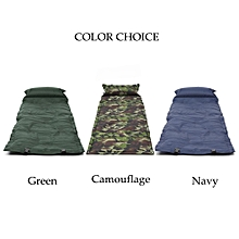 Single Self-Inflating Camping Roll Mat Camp Bed Inflatable Sleeping Mattress Bag-