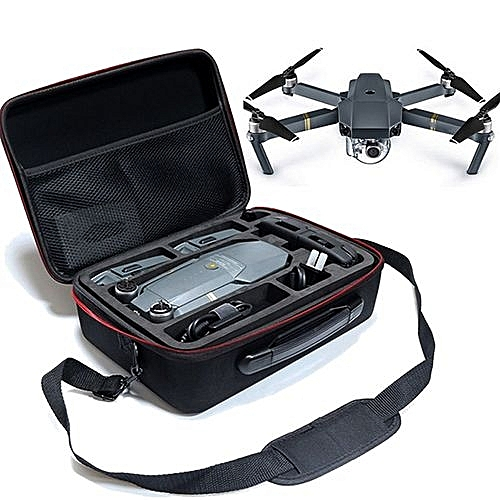 DJI MAVIC Pro Drone Shoulder Bag Case Protector EVA Internal Waterproof Shoulder Backpack Color:Black