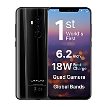 Z2 6.2 inches Notch Full Screen 4G Phablet Phone w/ 6GB + 64GB, Face ID - Black