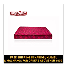 Superfoam Medium Duty Quilted Foam Mattress - Multicolored