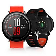 Xiaomi AMAZFIT HUAMI Sports Smart Digital + Analog Watch - Red + Black