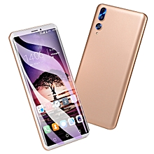 Mobile Phone Smartphone 5.8-Inch Android 6.0 (2MP+2MP) Dual-SIM 3G Smartphone-Gold