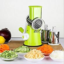Manual Vegetable Rotary Cutter, Grater, Grinder, Shredder & Slicer .