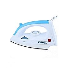 Steam Iron Box - 1200W - White & Blue..
