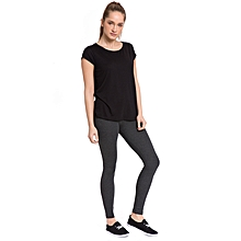 Dark Grey Female Leggings