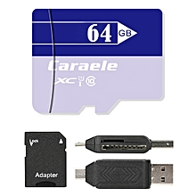 Caraele XC Class 10 UHS-I TF / Micro SD Memory Card_LIGHT PURPLE