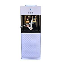 Hot and Normal Free Standing Water Dispenser K8 - White & Black Plus FREE Mug