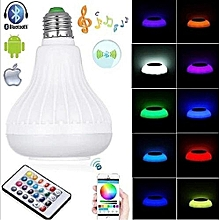 LED Music Bulb With Bluetooth,Music Player And Free Flash-disk