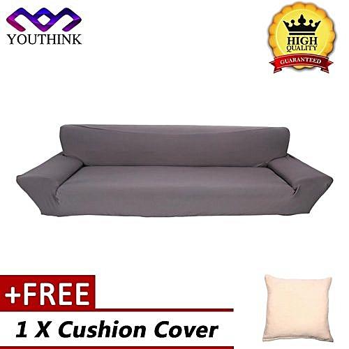 Generic Buy 1 Get 1 Free Cushion Cover Full Stretch Sofa