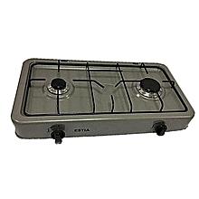 2-Burner  Gas Cooker -  Dark Grey