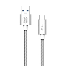 Elite Series Type-C to USB 3.0 Charging Cable 1M - Silver