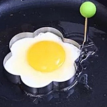 Stainless Steel Omelette Egg Frying Mold Love Flower Round Star Molds