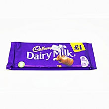Dairy Milk Chocolate (95 Grams)