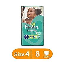 Maxi Unisex Size:4 - 8 Diapers