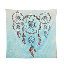 Square India Bohemian Hippie Tapestry Beach Throw Roundie Mandala Towel Yoga Mat-Colorful