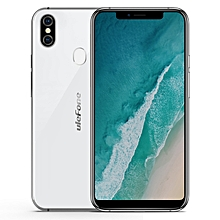 X, 4GB+64GB, Dual Back Cameras, Face & Fingerprint Identification, 5.85 inch Android 8.1 MTK6763 Octa-core 64-bit up to 2.0GHz, Dual SIM, Wireless Charge 4G Smartphone(White)