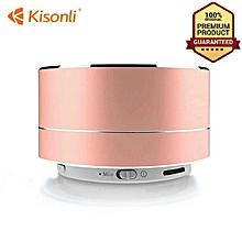 bluetooth Speaker wireless sub woofer multimedia Woofer FM - Gold