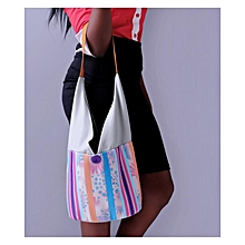 Multicolored Hobo Bag