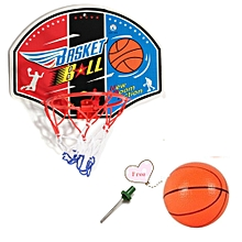 New Children Kids Indoor Mini Basketball Game Set Toys Gift Ball Hoop Backboard-