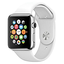 SIM/TF Bluetooth Sport Pedometer Wrist Watch A1G08 Smartwatch For Android Smartphone And Apple 5 5S 6 6 Plus (white)