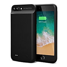 iPhone 7 Plus Battery Case, ROMOSS High Capacity Extended Battery Case for iPhone 7 Plus (5.5 inch) with 8000mAh Capacity/180% Extra Battery (Black)