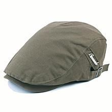 Mens Women Cotton Painter Beret Hat Leisure Visor Solid Berets Gorras Caps Adjustable
