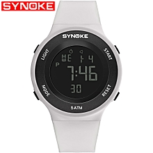 9199 Sport Watch LED Digital Watch Alarm Luminous Second Timing Waterproof Sport Band