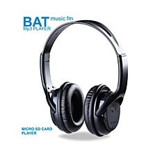 BAT Music SD Card Headphones with FM