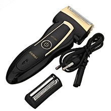 Kemei Rechargeable Electric Men's Shaver Razor Trimmer Mustache Hair Clipper
