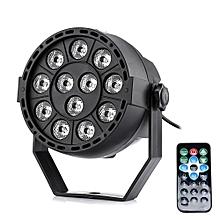 Lightme RGBW 12 LEDs Par Light -BLACK