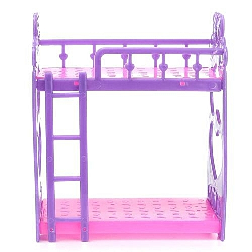 Buy Universal Plastic Bunk Bed W Ladder 1 6 For Barbie Doll S House