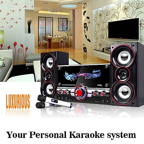 Wireless Bluetooth Professional Karaoke System 100W Audio Amplifier with  Remote