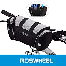 5L Bike Handlebar Bag Bicycle Front Tube Pocket Shoulder Pack Riding Cycling Supplies