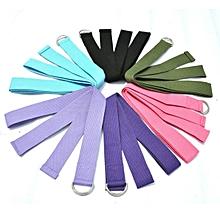 Yoga Stretch Strap D-Ring Belt Stretching Band