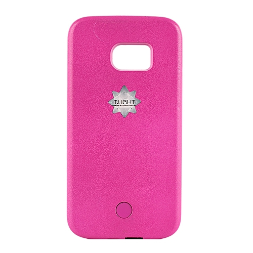 best cheap b63e5 2d850 Samsung S7 Edge LED Cover - Pink