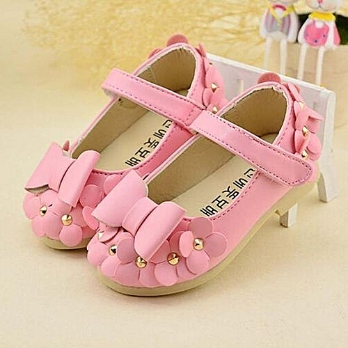 c280ac67d8fb Eissely bluerdream-Baby Girls Flats Toddler Cozy Pretty Flowers Dress Shoes  Ball Gown Sandals PK - Pink
