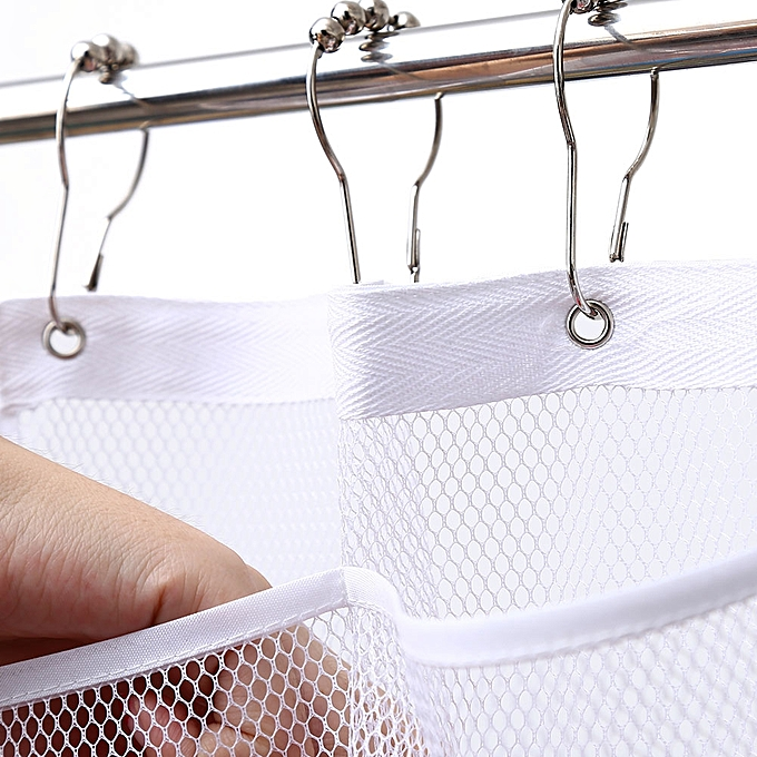 Hang Shower Organizer Quick Dry Hanging Caddy And Bath With 6 Pocket