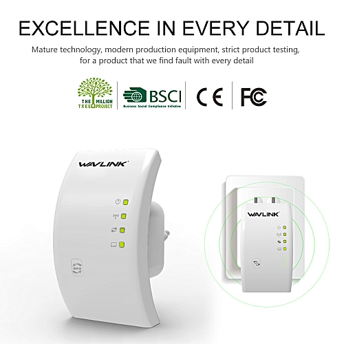 Wavlink N300 300Mbps Wireless 802 11 Wifi Range Router Repeater Extender  Booster UK Plug