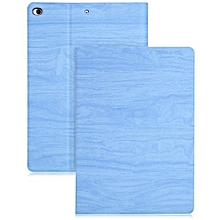 Wood Grain Flip CasePU Leather Protective Carry Shell Stand Holder For IPad Air 2