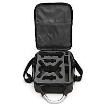 Waterproof Single Shoulder Bacpack Handheld Storage Box Carry Bag For DJI Spark Black liner