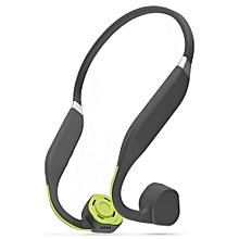 F1 Wireless Bone Conduction Bluetooth Headset-GREEN