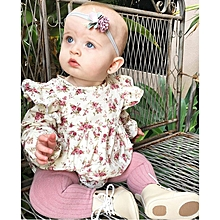 Newbron  Babysuits  Rompers  Long  Sleeve Printing Jumpauit Baby Girl's Boy's  One Picece Clothings Summer Autumn Baby Clothings 70cm-100cm