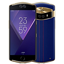 meitu V6, 6GB+128GB, Not Support Google Play, Face & Fingerprint Identification, 5.5 inch AMOLED Screen MEIOS 4.1 (Based on Android 7.0) MT6799 Deca Core up to 2.6GHz, Network: 4G(Edinburgh Blue)