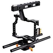 WEIHE DSLR Camera Video Cage Stabilizer Rig For A7S / A7 / A7R / A7