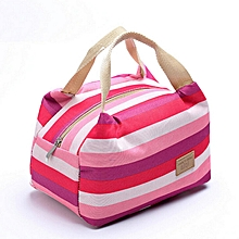 Picnic Insulated Food Storage Zipper Box Tote Bento Pouch Lunch Bag